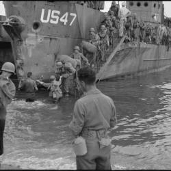 Débarquement en 1944