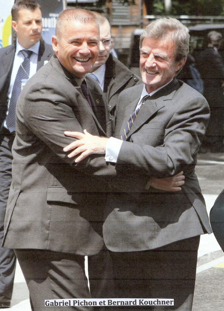 Gaby et Kouchner