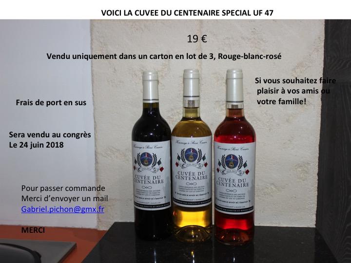 Bouteille de vins uf47