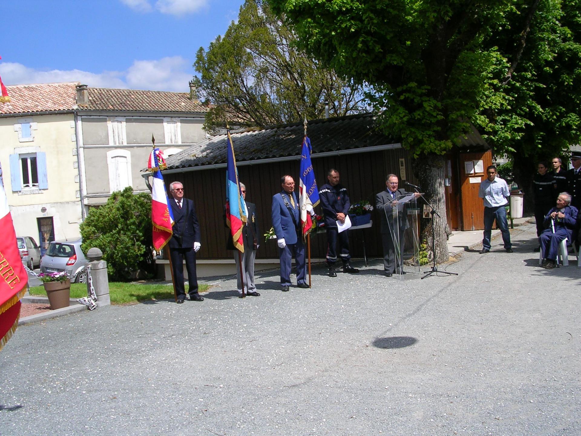 Ceremonie du 08 mai 2017