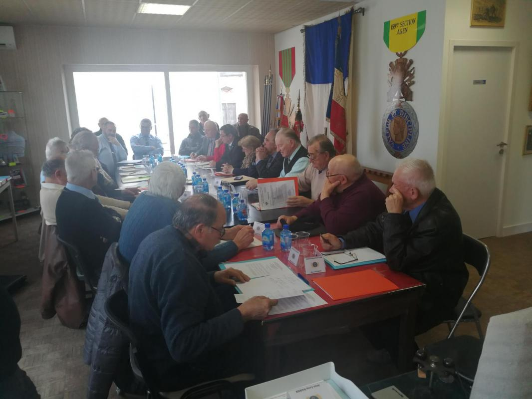 Réunion comité fédéral 2019