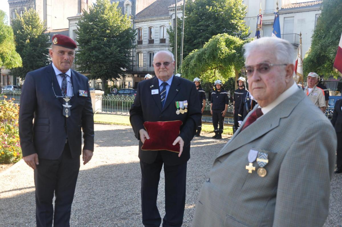 Cérémonie Libération de Marmande le 21 août 2015