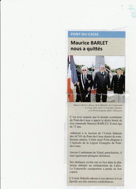 Maurice barlet